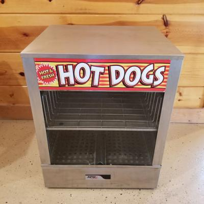 Self Serve Hot Dog and Bun Warmer