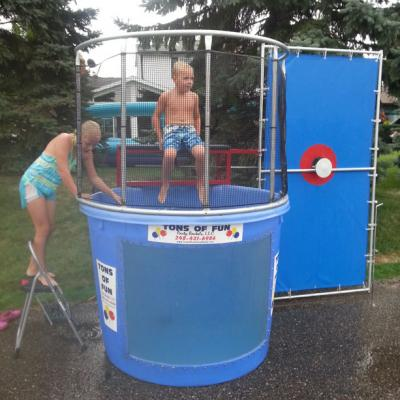 Dunk Tank In Action